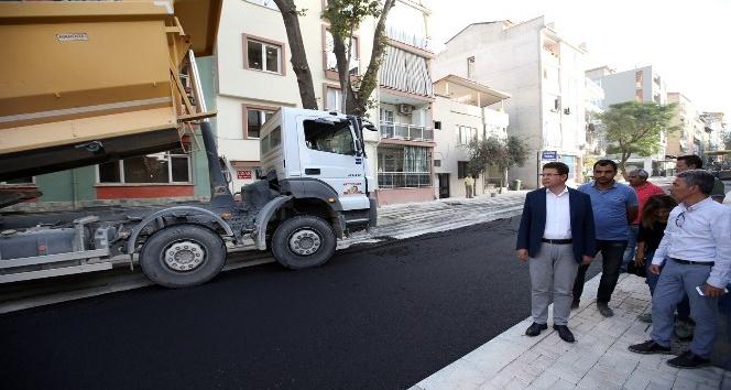 Subaşıoğlu, üst yapı çalışmalarını inceledi