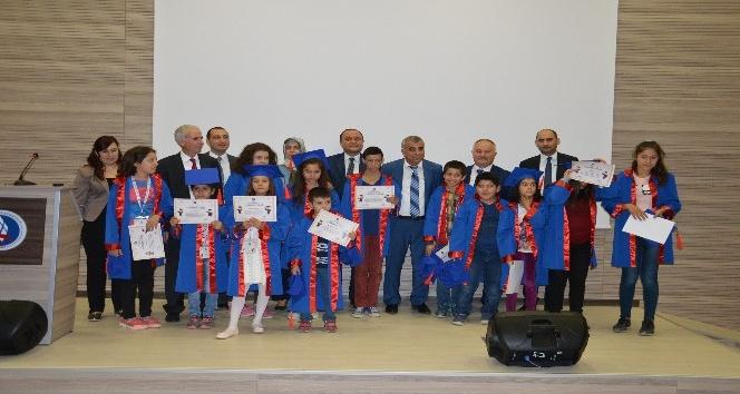Çocuk Üniversitesi ikinci mezunlarını verdi