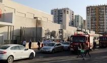 AVMde yangın paniğe neden oldu