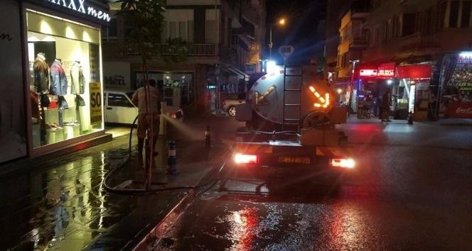 Alaşehirin cadde ve sokakları pırıl pırıl