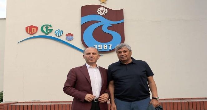 Lucescudan Trabzonspora ziyaret