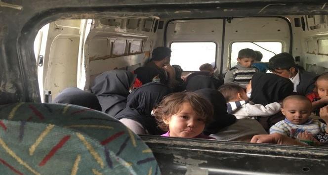 Doğubayazıt'ta 62 Afgan göçmen yakalandı