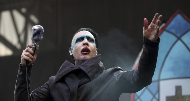 """Marilyn Manson: """"Columbine katliamı kariyerimi mahvetti"""""""