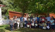 221 öğrenci tabiat kaşifi sertifikası aldı