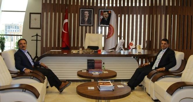 Cumhuriyet Başsavcısı Şahin'den Rektör Bağlı'ya ziyaret