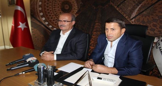 ATO Başkanı Baran, Siirt TSO seçimlerinde Güven Kuzu'ya destek çıktı