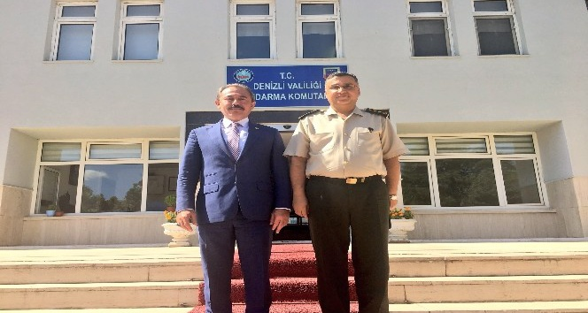 AK Partili Tin, İl Jandarma Komutanı Düz'ü ziyaret etti