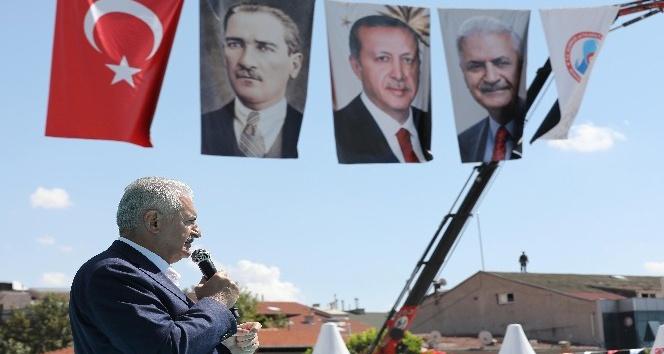 """Başbakan Bİnali Yıldırım: """"Barzani efendiyi uyardık ama laf anlamaz. Anlayacağı dilden konuşmasını biliriz"""""""