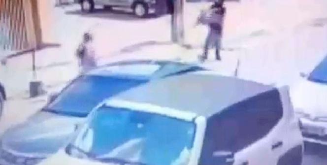 Kız arkadaşına kurşun yağdırdı