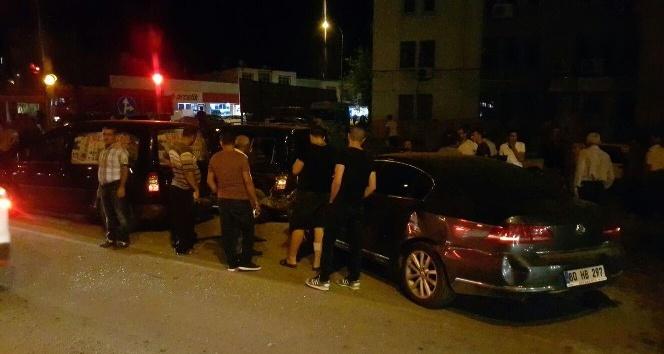 Kadirli'de zincirleme trafik kazası: 6 yaralı