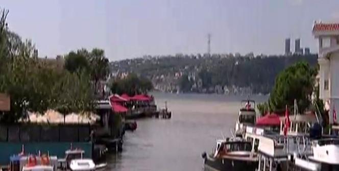 İstanbul Boğazı çamurla kaplandı