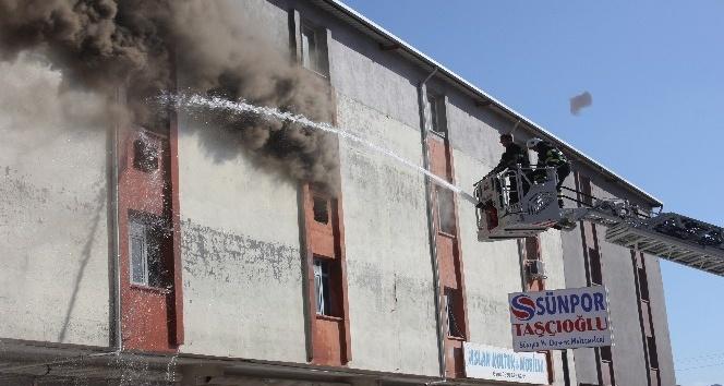 Antakya Sanayi Sitesi'nde yangın