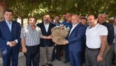 Erzurum Büyükşehir Belediye Başkanı Sekmen Akhisarda
