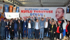 Salihli AK Parti, Dinç ile yola devam dedi