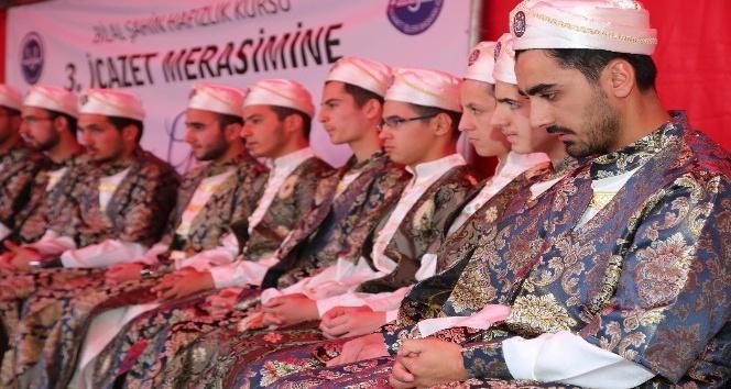 Yozgat'ta 22 hafız icazet aldı