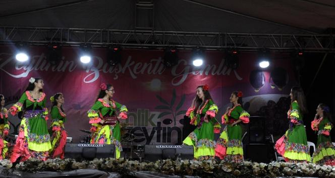 Gemlik Zeytini Festivalinden renkli görüntüler