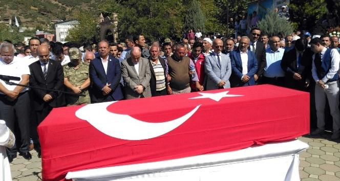 Şehit işçi Osmaniye'de toprağa verildi