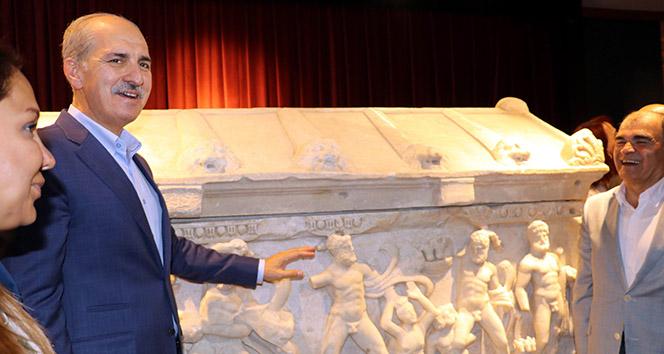 57 yıl sonra ait olduğu topraklara dönen Herakles Lahdi açıldı