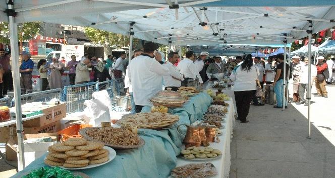 Kahramanmaraş'ın yemekleri yarıştı