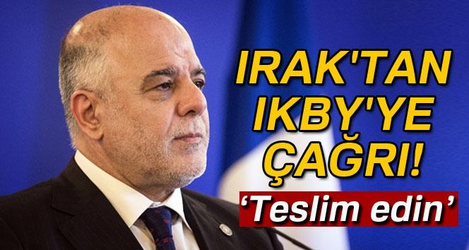 Irak'tan IKBY'ye çağrı: 'Sınır kapılarını ve havaalanlarını teslim edin'