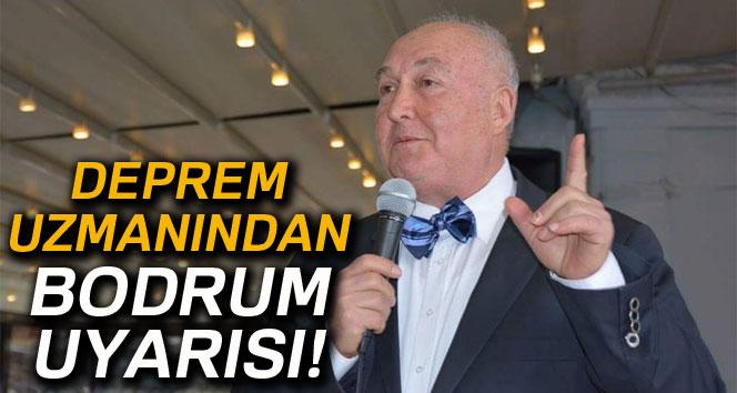 Deprem uzmanı Prof. Dr. Ercan'dan Bodrum uyarısı
