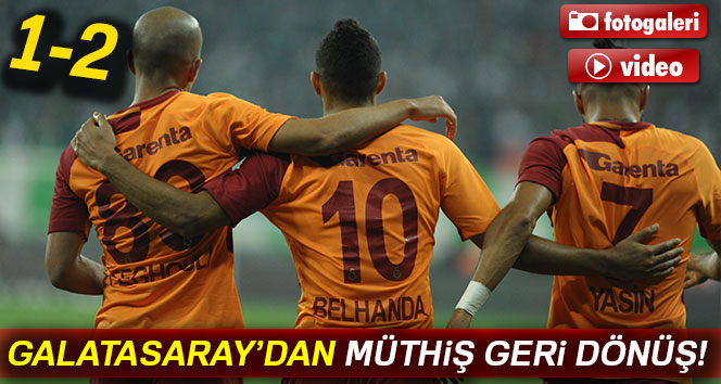 ÖZET İZLE: Bursaspor 1-2 Galatasaray |Bursa GS maçı geniş özeti ve golleri izle