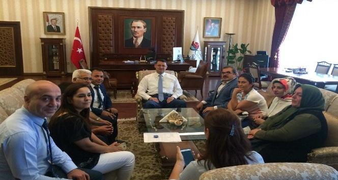 """Mehmet Emin Erkoç: """"Projeler üretiyoruz"""""""