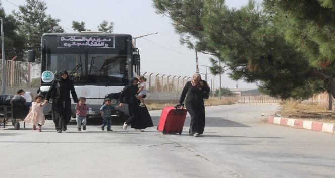 Bayram için ülkelerine giden 54 bin Suriyeliden 34 bini geri döndü