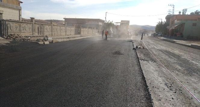 Siirt belediyesinden asfalt çalışmaları