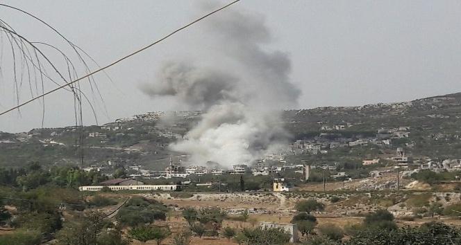 Rejim ve Rus jetlerinden İdlib kırsalına ağır bombardıman: 17 ölü
