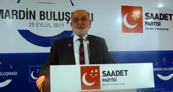 SP Genel Başkanı Mardin'de