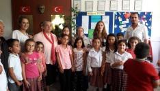 Tuncelide okullara yardım