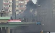 Ataköy Metrosunda yangın çıktı