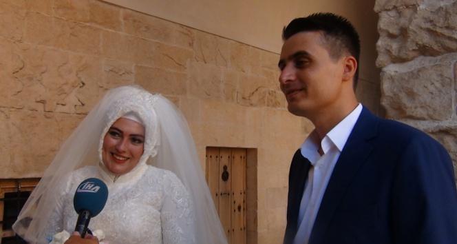 Evlenecek çiftler bu şehre akın ediyor