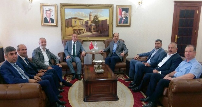 AK Parti Mardin heyetinden vali Abdullah Erin'e ziyaret