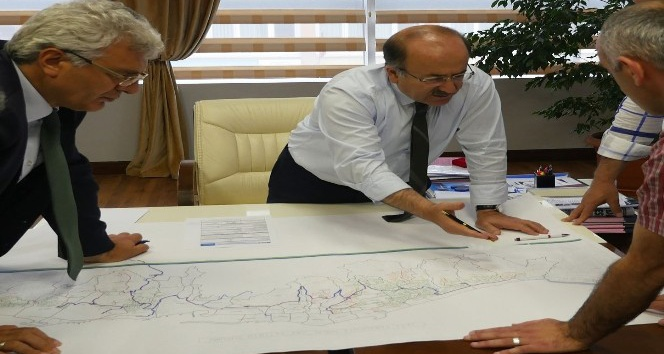 Trabzon'da içme suyu ve kanalizasyon çalışmaları