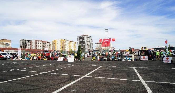 Kastamonu Belediyesi, üç yılda 13 milyon liralık yatırımla 73 adet araç satın aldı