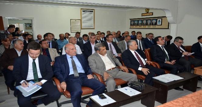 Yüksekova'da Dış Ticaret Bilgilendirme semineri