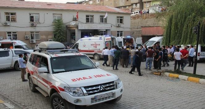 Teröristlerin saldırısında yaralanan sığınmacılar tedavi altına alındı
