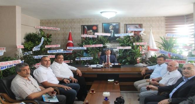 Koçak ve Aktürk, AK Parti İl Başkanı Altınsoy ile görüştü