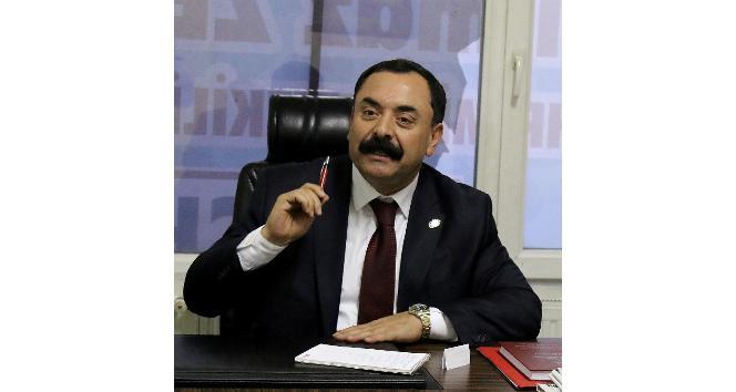 """CHP İl Başkanı Yılmaz Zengin: """"Dış politikada yapılan yanlıştan dönülmeli referandumu tanımıyoruz"""""""