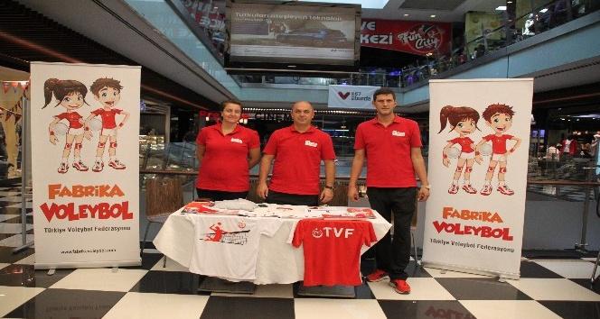 Türkiye Voleybol Federasyonu Fabrika Voleybol Okulları Zonguldak'ta