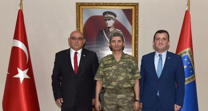 Başkan Kara'dan İl Jandarma Komutanı Albay Halil Şen'e ziyaret