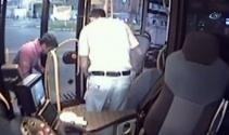 Otobüsle çarptığı yaralı köpeği bırakmadı
