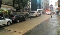Tekirdağda sağanak yağış