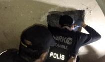 """Nefes kesen narkotik operasyonunda """"Torbacı Tüneli"""" bulundu"""