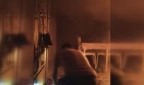 Bahçelievlerde korkutan ev yangını