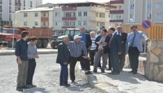 Belediye Başkanı Faruk Köksoy, çalışmaları yerinde inceledi