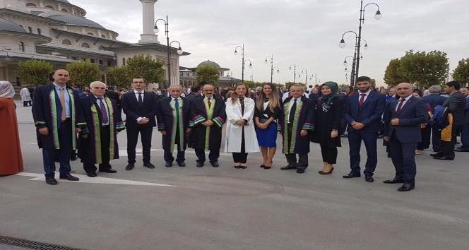 Rektör Çakar, Yükseköğretim Akademik Yılı açılış törenine katıldı
