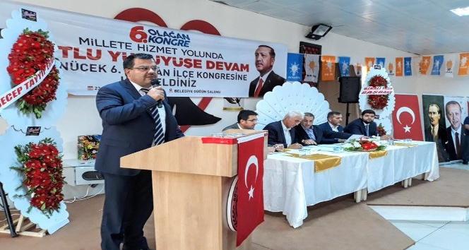 """AK Parti'li Ünek: """"2019, Türkiye'nin ve İslam coğrafyasının seçim yılıdır"""""""